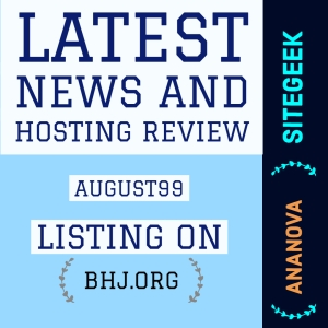 web hosting review August99